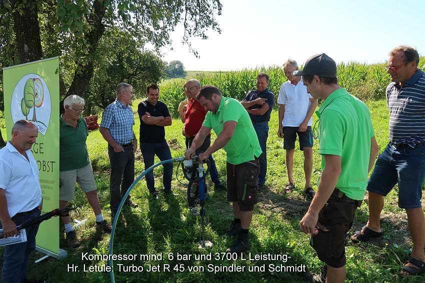 Bodenlockerung-Lanze